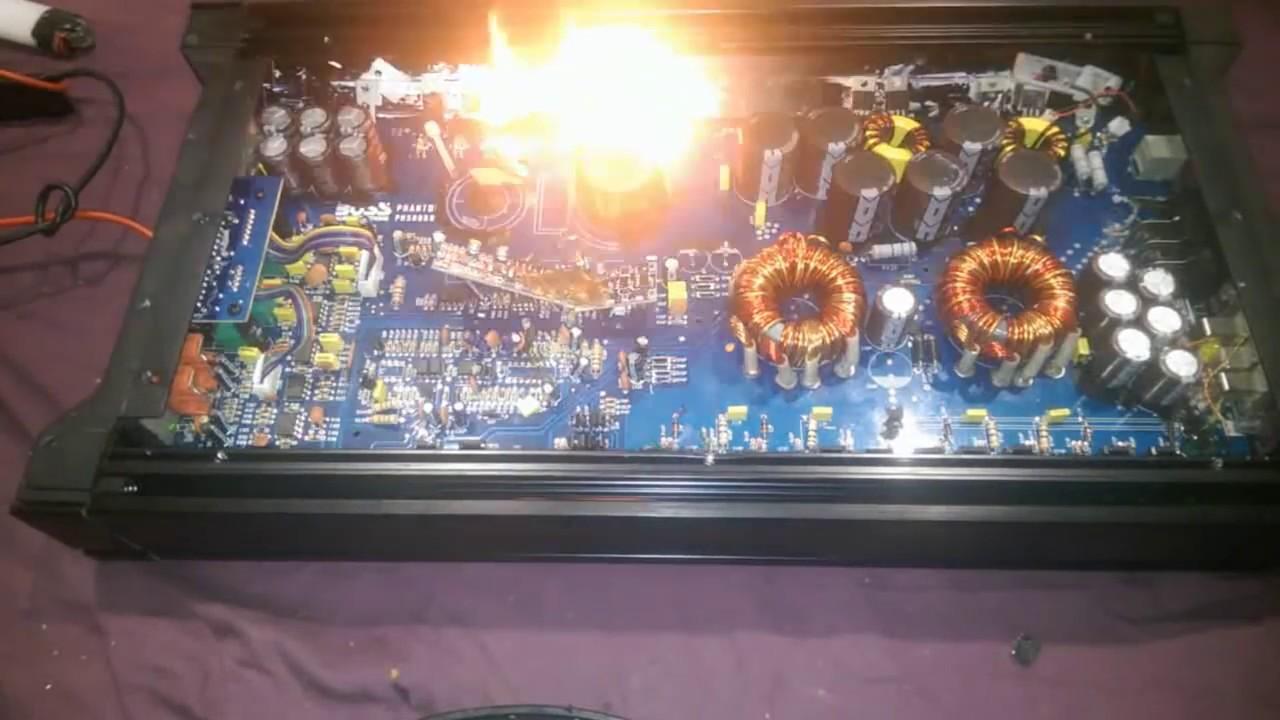 how to fix a boss audio phantom 5000w amplifier