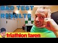 Got some bad triathlon training news