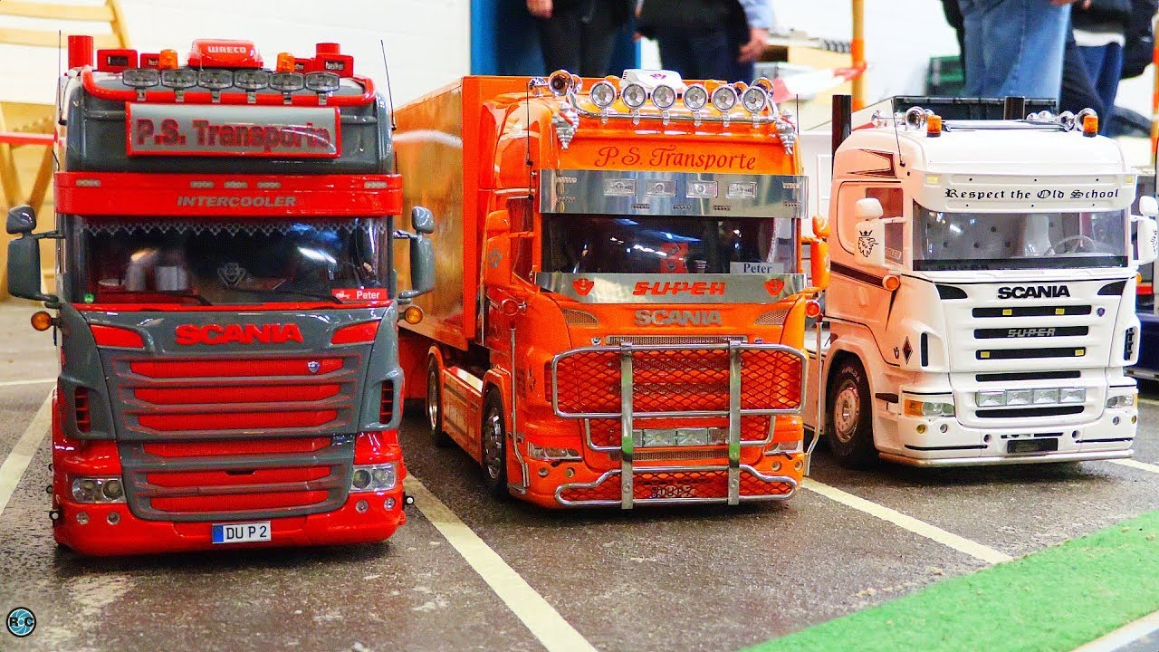 Rc Trucks And Trailer Lingen 2018 Spezial Awesome Scania Rc Truck