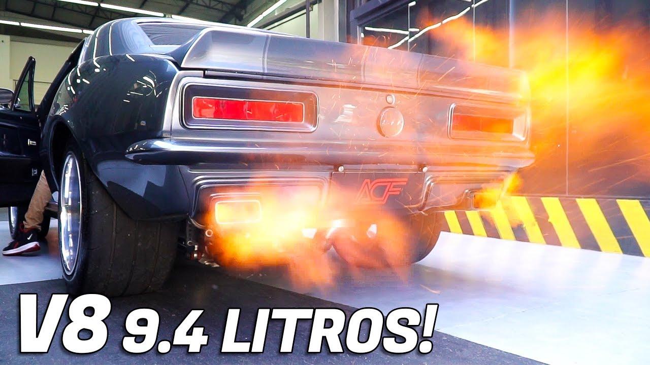 CAMARO 1967 COM UM V8 572 DE 9.4 LITROS!!! UM MONSTRO