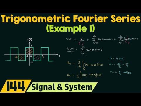 Trigonometric Fourier Series (Example 1)