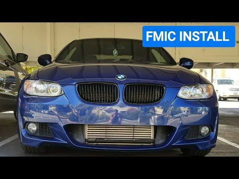 DIY: BMW N54/N55 Front Mount Intercooler Install (335i