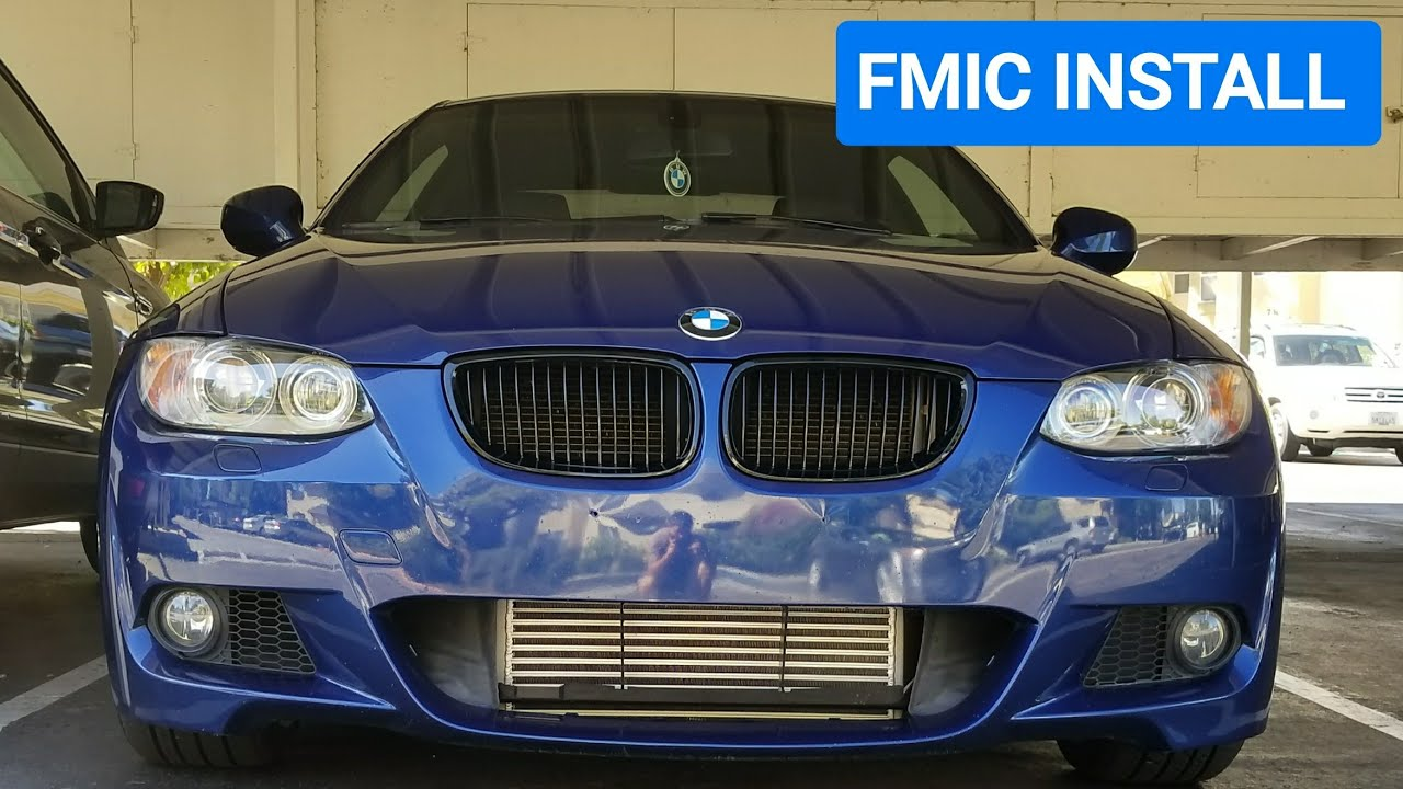 DIY: BMW N54/N55 Front Mount Intercooler Install (335i)