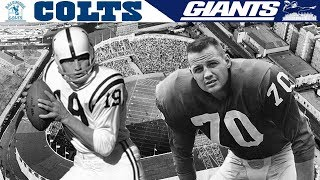 The GREATEST Game Ever Played! (Colts vs. Giants, 1958 NFL Championship)