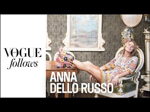 Anna Dello Russo : Crazy Day during Milan Fashion Week |  #VogueFollows  |  VOGUE PARIS