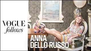 Anna Dello Russo : Crazy Day during Milan Fashion Week |  #VogueFollows  |  VOGUE PARIS