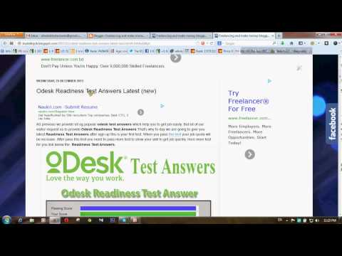 odesk test answers