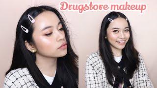 Drugstore makeup tutorial indonesia