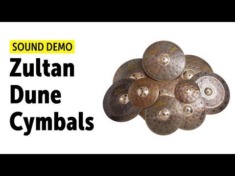 Zultan Dune Cymbal Series - All Models Sound Demo