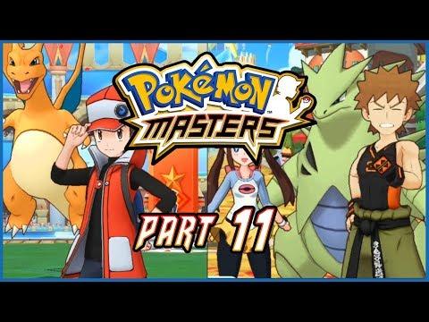 Pokemon Masters Part 11 SYNGA SUIT & RED Gameplay Walkthrough - 동영상