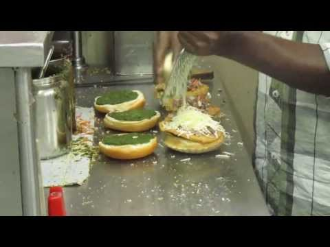 Street Food Bangalore - Famous Bun Nippat Cheese