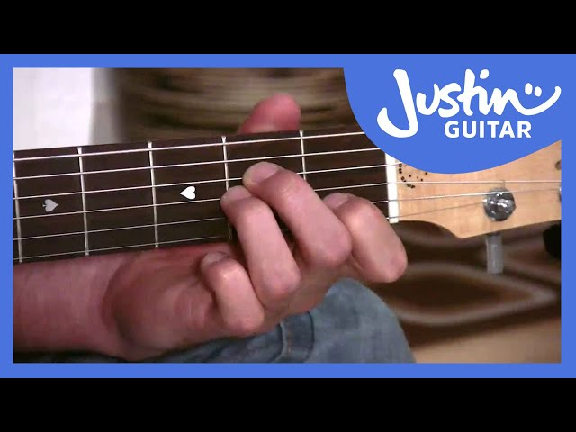 The G Chord | JustinGuitar.com