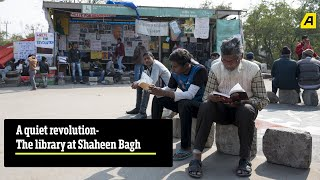 A Quiet Revolution   Fatima Sheikh-Savitribai Phule Library at #ShaheenBagh   Asiaville Exclusive