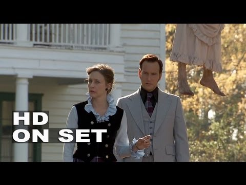 The Conjuring: Behind the Scenes Footage Part 1
