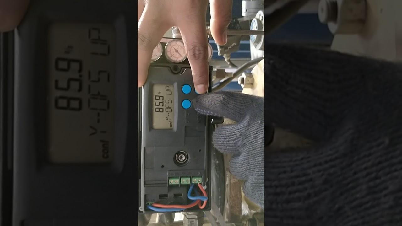 Calibration of control valve! ABB TZIDC positioner factory settings