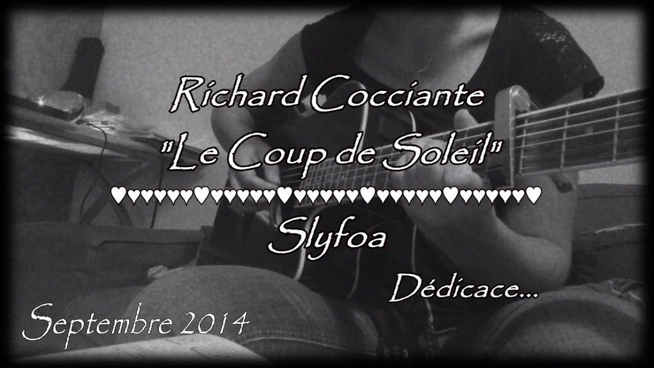 96 le coup de soleil richard cocciante reprise guitare coustique youtube - Richard cocciante album coup de soleil ...