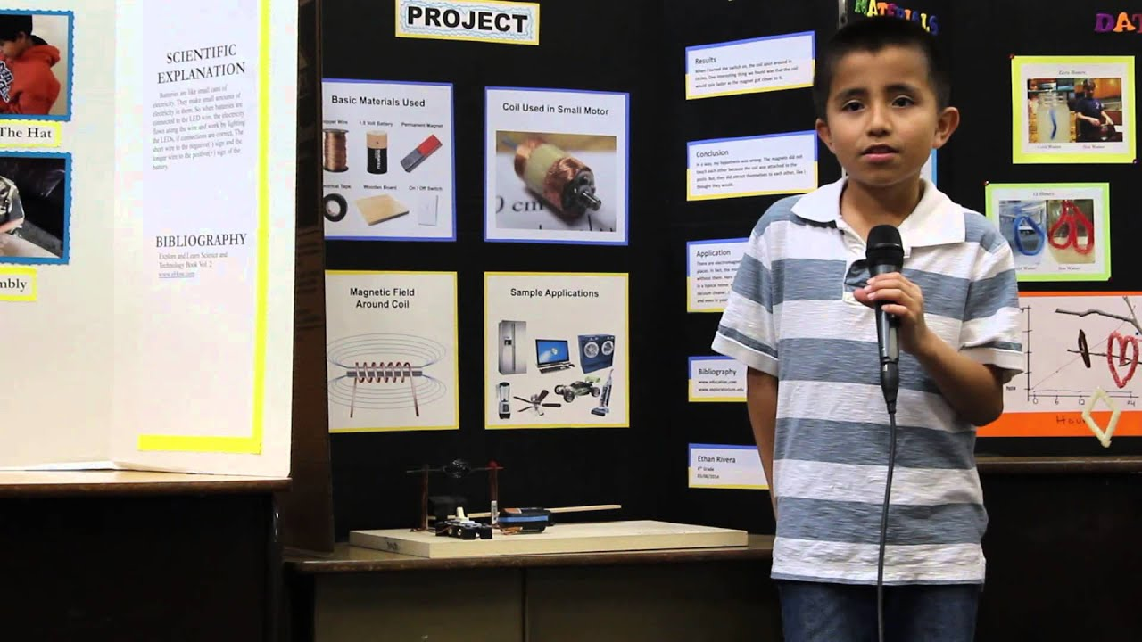 4 grade science fair projects