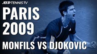 Gael Monfils vs Novak Djokovic: Rolex Paris Masters 2009 Final Extended Highlights