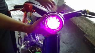 Cara Pasng Lampu Proje Honda C70