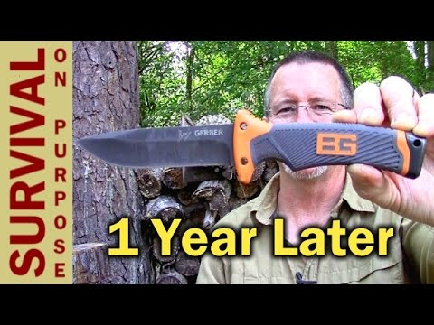 Gerber Bear Grylls Ultimate Survival Knife - One Year Later