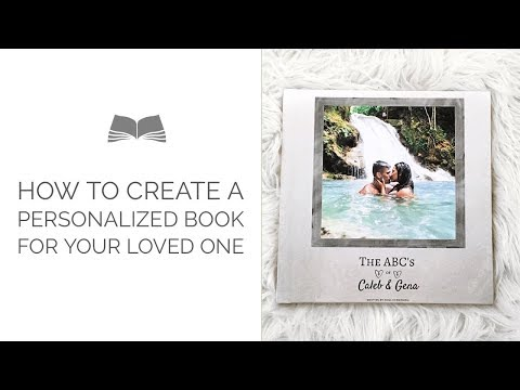HOW-TO Make Your Own Love Book | THE BEST ANNIVERSARY GIFT