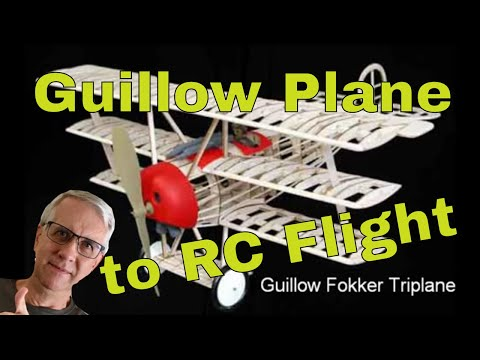 Convert Guillow Kits to RC