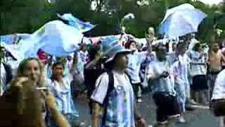 Argentina fans! Incredibile !!!!