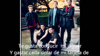 Just Don't Tell Me That- Nsync (Español)