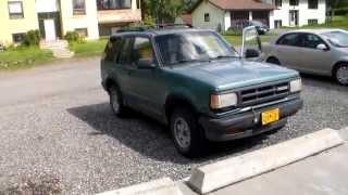 1993 Mazda Navajo LX 4x4 Automatic