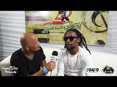 Jah Cure interview from FM949 Bob Radio's DJ Carlos Culture at Reggae Sumfest 2017