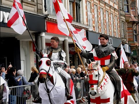 Nottingham's St George's Day Parade 2018