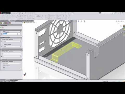 SolidWorks Tech Tips: Convert Solid To Sheet Metal