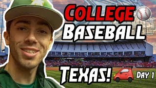 COLLEGE BASEBALL ROAD TRIP (what