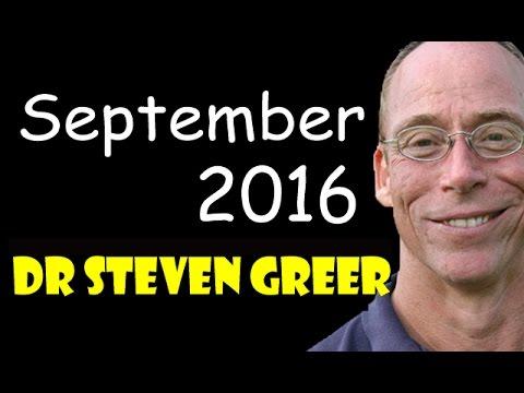 Dr Steven Greer 2016 September