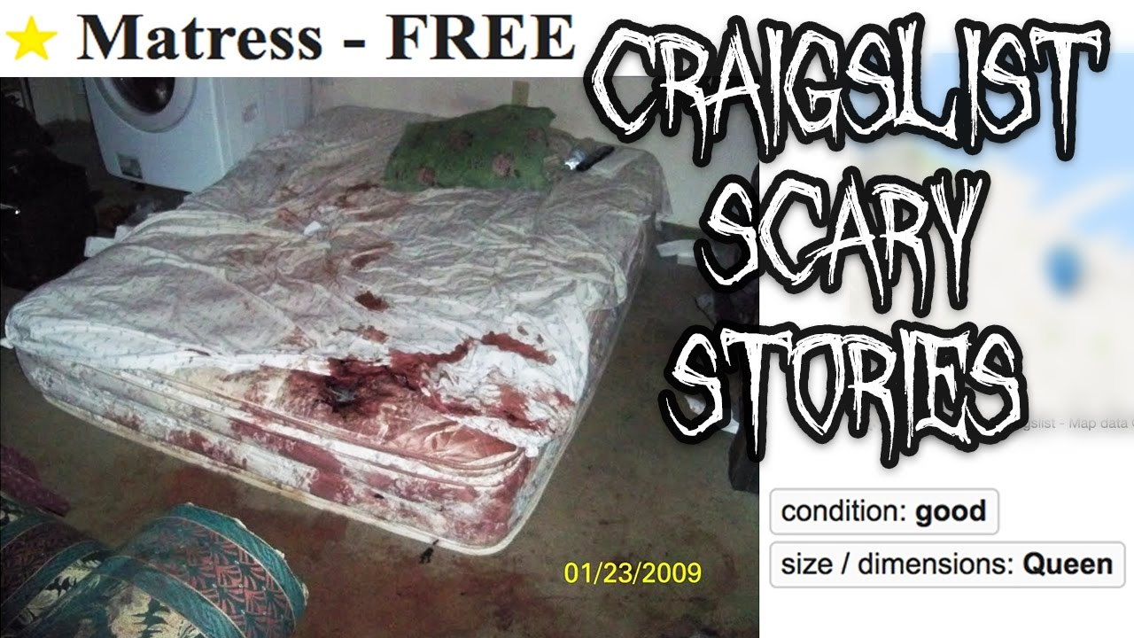 3c9185f2c7 5 CRAIGSLIST SCARY STORIES - YouTube