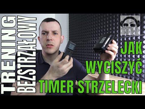 Jak skutecznie wyciszyć timer strzelecki ?