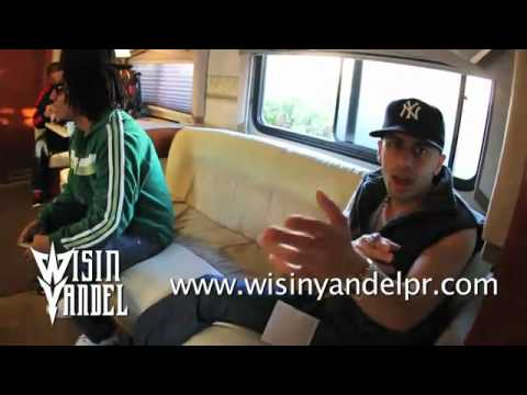 Wisin y Yandel ft.Tego Calderon y Pitbull – Lifestyle Making of Zun Zun Rompiendo Caderas [Remix]