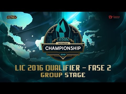 LIC Qualifier Fase 2 - Group Stage (with shoutcast)