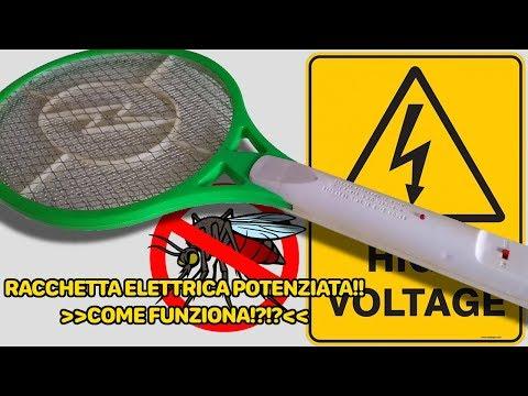 Schema Elettrico Racchetta Per Zanzare : Racchetta zanzare potenziata by archimede der