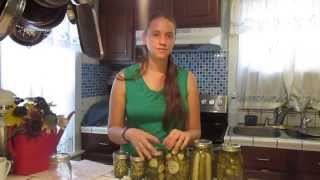 How To Make Easy Dill Pickles! As Little as One Jar at a Time!!