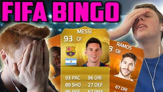 FIFA 15 - THE BIGGEST FIFA BINGO EVER W/ WROETOSHAW!!! | DISCARDING MESSI OR 2X MOTM!!!