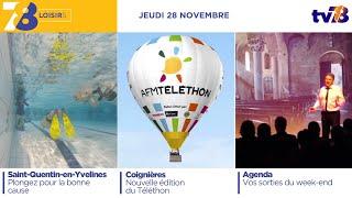 7/8 Loisirs. Emission spéciale Téléthon 2019 du 28 novembre