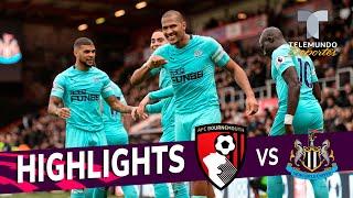 Bournemouth vs. Newcastle United: 2-2 Goals & Highlights   Premier League   Telemundo Deportes