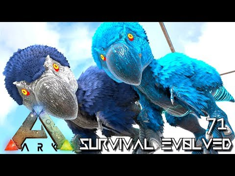 ARK: SURVIVAL EVOLVED - BABY DODOREXYS & SUPREME TEK ARMOR E71 !!! ( ARK EXTINCTION CORE MODDED )