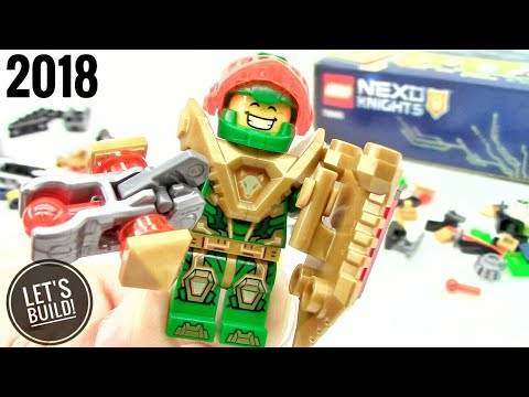 2018 LEGO Nexo Knights: Aaron's X-bow 72005 - Let's Build!