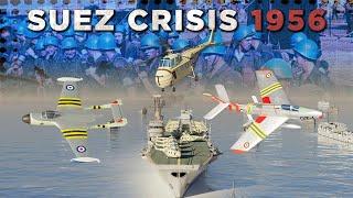 Suez Crisis 1956 - Cold War DOCUMENTARY