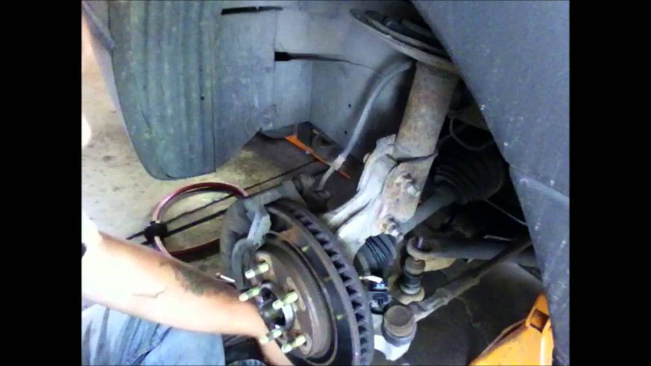 How to change sway bar end links - YouTube