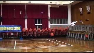 學校室內模型飛行