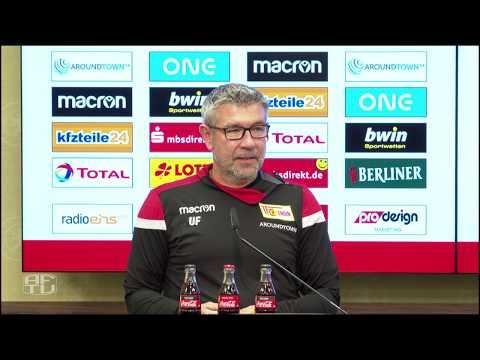 1. FC Union Berlin: Pressekonferenz vor dem Spiel gegen Hertha BSC (SNIPPET)