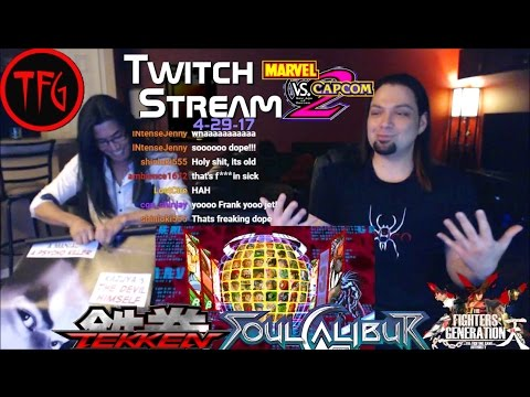 TFG Twitch Replay (4-29-17): Classic MVC2, SoulCalibur 2 & T
